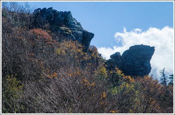 鶴岩・亀岩