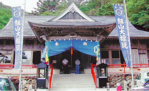民宿 宿坊剣山円福寺